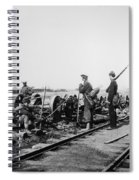 Civil War: Bull Run, 1862 Spiral Notebook