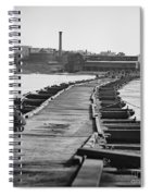 Civil War: Pontoon Bridge Spiral Notebook