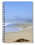 Coast Of Pacific Ocean In Canada Spiral Notebook