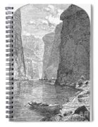 Colorado River Spiral Notebook