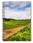 Countryside Landscape Spiral Notebook