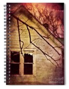 Creepy Abandoned House Spiral Notebook