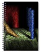 Dali's Columns Spiral Notebook