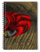 Deep Explorations Spiral Notebook