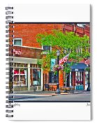 Downtown Willoughby Spiral Notebook