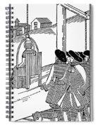 Ducking Stool Spiral Notebook