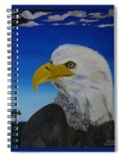 Eagle At Dusk Spiral Notebook