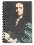 Edmond Halley, English Polymath Spiral Notebook