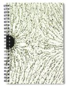 Electric Field Lines Spiral Notebook