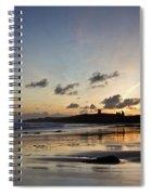 Embleton Bay Sunrise Spiral Notebook