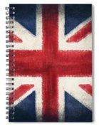 England Flag Spiral Notebook