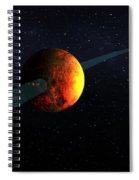 Exoplanet, Kepler-10b Spiral Notebook
