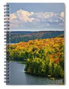 Fall Forest And Lake Spiral Notebook