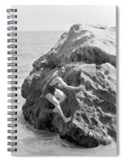 Film Still: Beach Spiral Notebook