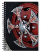Fire Truck Spinners Spiral Notebook