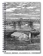 Flood: Clarksville, 1874 Spiral Notebook