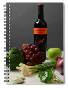 Foods Rich In Quercetin Spiral Notebook