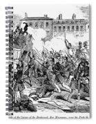 France: Revolution, 1848 Spiral Notebook