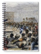 Freedmens Village, 1866 Spiral Notebook