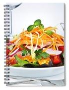 Garden Salad Spiral Notebook