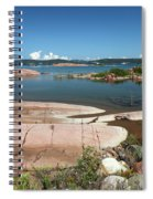 Georgian Bay, Canada Spiral Notebook