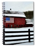 God Bless America Spiral Notebook