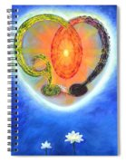 God Lives In My Heart Spiral Notebook