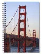 Golden Gate Bridge San Francisco Spiral Notebook