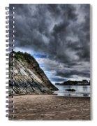 Goscar Rock Tenby Spiral Notebook