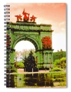 Grand Army Plaza Spiral Notebook