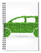 Green Car Spiral Notebook