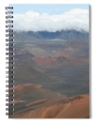 Haleakala Volcano Maui Hawaii Spiral Notebook