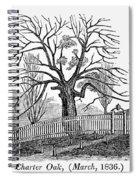 Hartford: Charter Oak Spiral Notebook