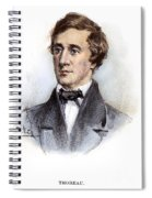 Henry David Thoreau Spiral Notebook