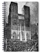 Hunchback Of Notre Dame Spiral Notebook