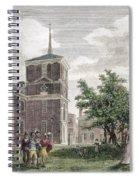 Independence Hall, 1799 Spiral Notebook