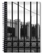 Iron And Pillars Spiral Notebook