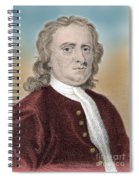 Isaac Newton, English Polymath Spiral Notebook