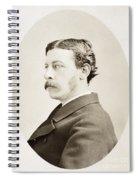 James Gordon Bennett, Jr Spiral Notebook