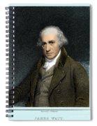 James Watt, Scottish Inventor Spiral Notebook