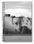 Johnny Cash Spiral Notebook