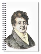 Joseph Fourier, French Mathematician Spiral Notebook