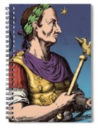 Julius Caesar, Roman General Spiral Notebook