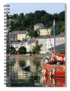 Kinsale Harbour, Co Cork, Ireland Spiral Notebook