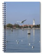 Lagoon. Venice Spiral Notebook