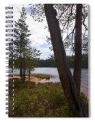 Lake Huosius At Hossa Spiral Notebook