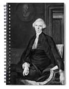 Laurence Sterne (1713-1768) Spiral Notebook
