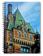 Le Chateau ... Spiral Notebook