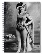Lillian Russell (1861-1922) Spiral Notebook