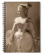 Lillie Langtry (1852-1929) Spiral Notebook